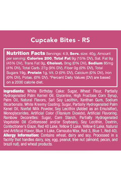 Candy Club Cupcake Bites - Alternate List Image
