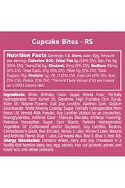 Candy Club Cupcake Bites - Side cropped