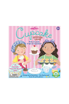 Shoptiques Product: Cupcake Spinner Game