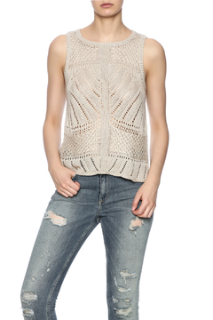 Shoptiques Product: Crochet Sweater Vest