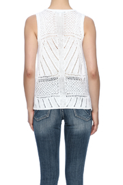 Cupcakes & Cashmere Drop Needle Sweater Tank - Back cropped