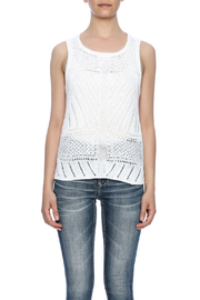 Cupcakes & Cashmere Drop Needle Sweater Tank - Side cropped