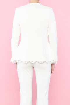 Shoptiques Product: Fitted Lace Blazer