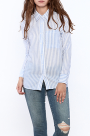 Cupcakes & Cashmere Stripe Button Down - Product Mini Image