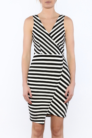 Cupcakes & Cashmere Sheldon Striped Dress - Side cropped