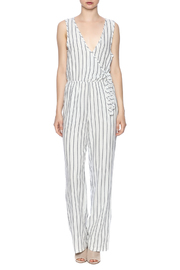 Cupcakes & Cashmere Stripe Jumpsuit - Front cropped