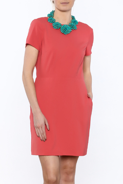Cupcakes & Cashmere Vista Draped Back Dress - Product List Image