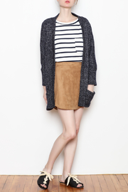 Cupcakes and Cashmere Gunnar Open Cardigan - Front full body