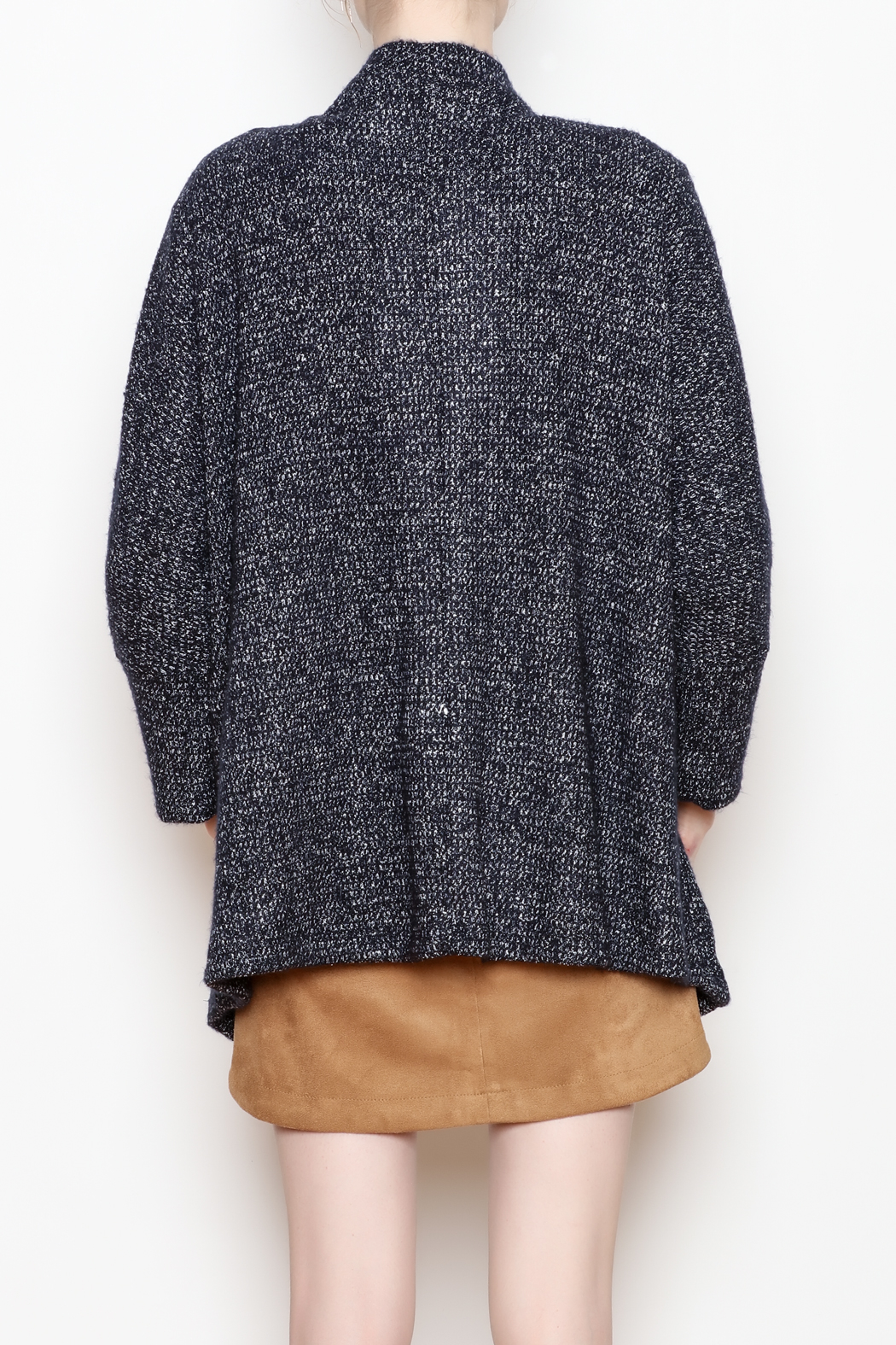 Cupcakes and Cashmere Gunnar Open Cardigan - Back Cropped Image