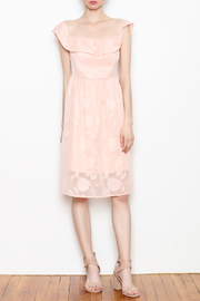 Cupcakes and Cashmere Off the Shoulder Dress - Front full body