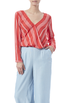 Shoptiques Product: Striped Escher Blouse