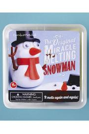 Cupcakes & Cartwheels Miracle Melting Snowman - Back cropped