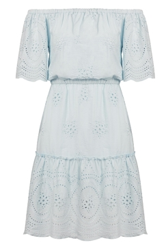 Cupcakes & Cashmere Blue Eyelet Dress - Alternate List Image