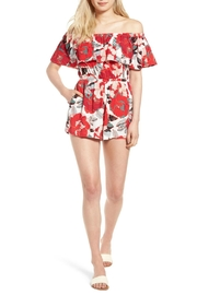 Cupcakes & Cashmere Cadrian Romper - Front cropped