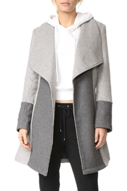 Cupcakes & Cashmere Colorblocked Wrap Coat - Product Mini Image