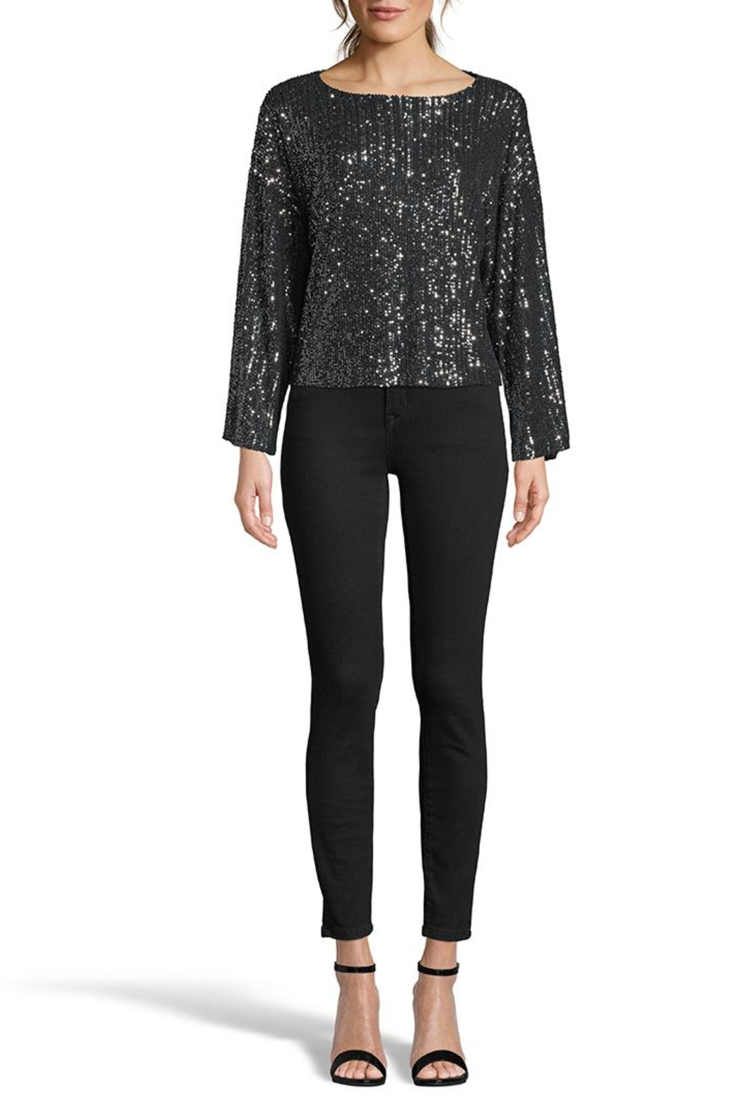 Cupcakes & Cashmere Cora Sequened Top - Main Image