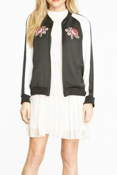 Shoptiques Product: Daffodil Embroidered Bomber