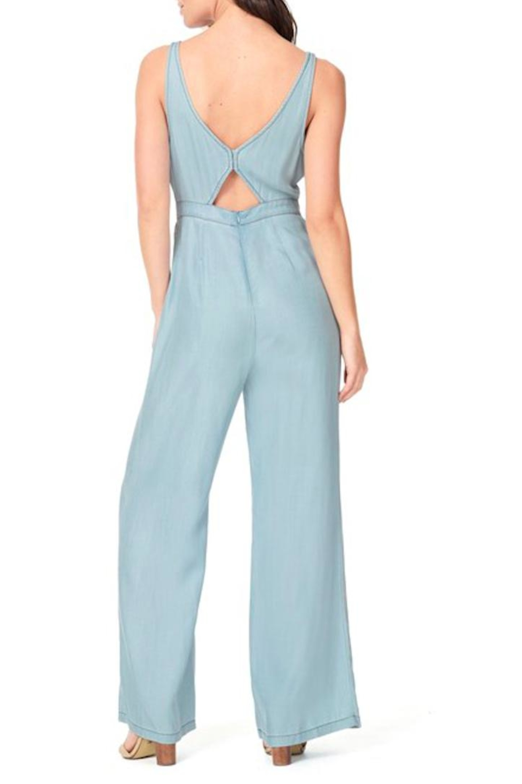 Cupcakes & Cashmere Deven Jumpsuit - Side Cropped Image