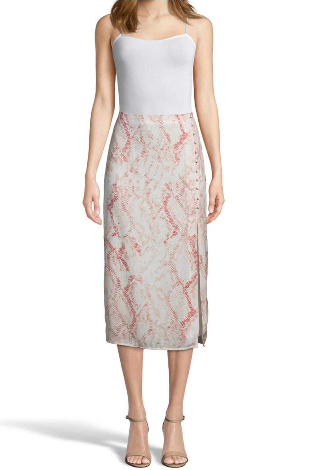 Cupcakes & Cashmere Fairfax Midi Skirt - Front Cropped Image
