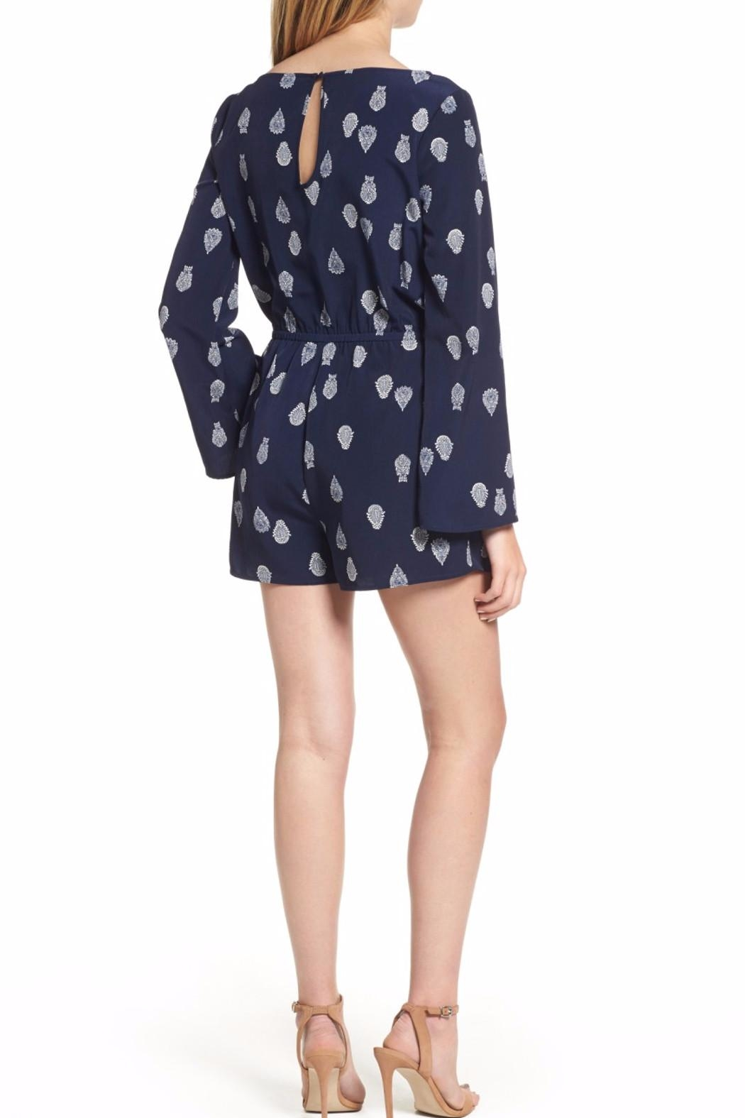 Cupcakes & Cashmere Harley Romper - Front Full Image
