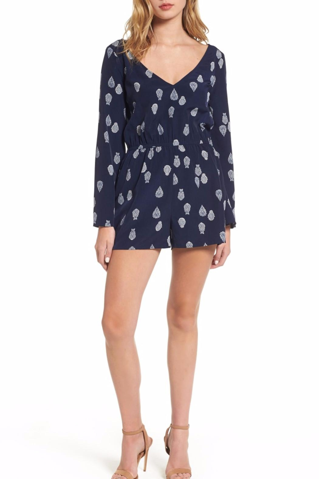Cupcakes & Cashmere Harley Romper - Main Image