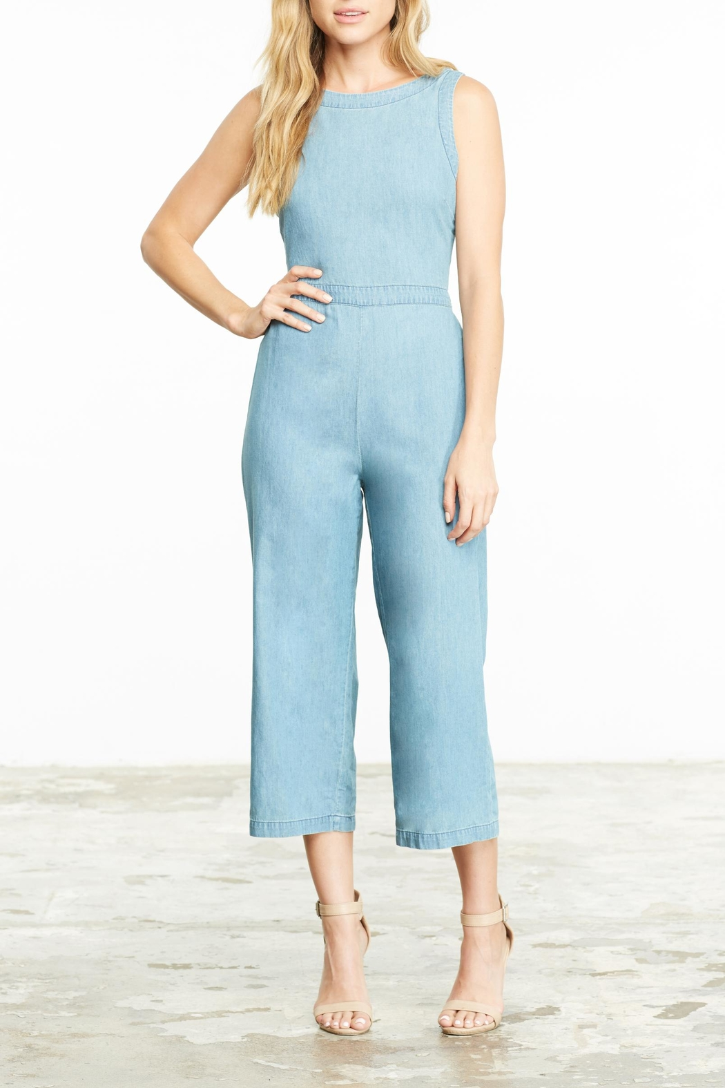 f9cec3a60b8a Cupcakes   Cashmere Washed Denim Jumpsuit from San Diego by Dolcetti ...