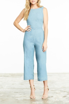 Shoptiques Product: Washed Denim Jumpsuit