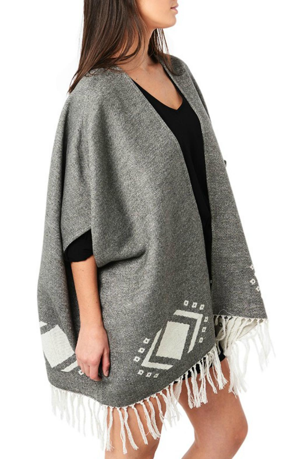 Cupcakes Cashmere Jordy Blanket Poncho From Canada By Blue Sky Fashions Lingerie Shoptiques