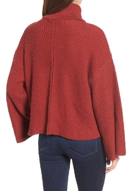 Cupcakes & Cashmere Pullover Turtleneck Sweater - Back cropped