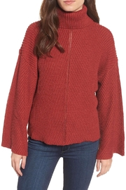 Cupcakes & Cashmere Pullover Turtleneck Sweater - Product Mini Image