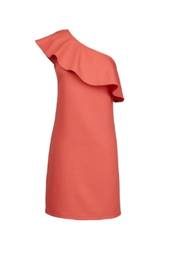 Cupcakes & Cashmere Ruffle One Shoulder Dress - Alternate List Image