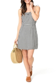 Cupcakes and Cashmere Eddie Gingham Dress - Product Mini Image