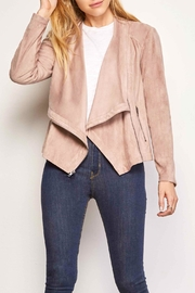 Cupcakes and Cashmere Holt Faux-Suede Jacket - Product Mini Image