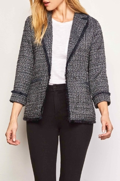 Cupcakes and Cashmere Gregory Tweed Blazer - Product List Image