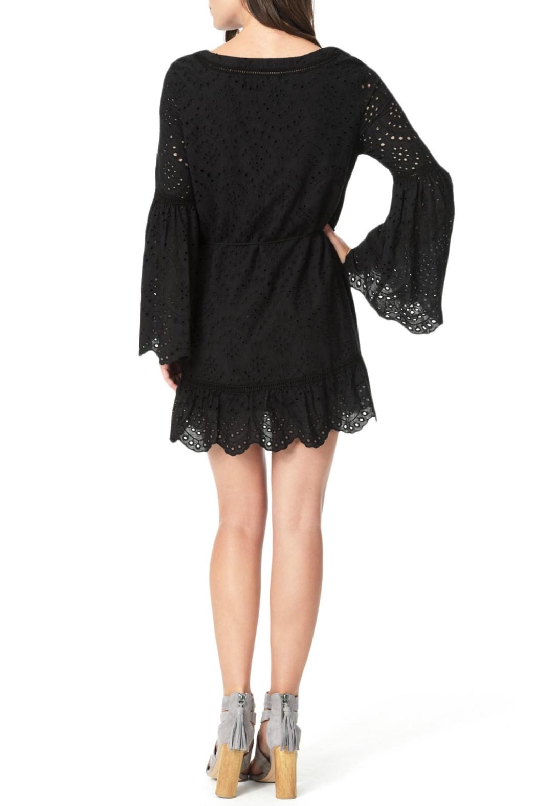Cupcakes and Cashmere Ruben Flutter Dress - Front Full Image