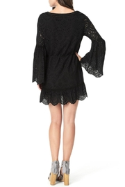 Cupcakes and Cashmere Ruben Flutter Dress - Front full body