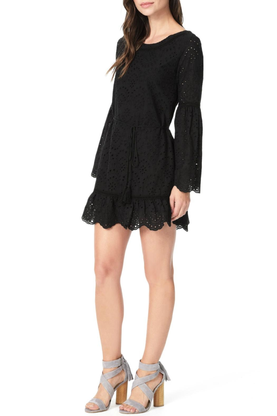 Cupcakes and Cashmere Ruben Flutter Dress - Side Cropped Image