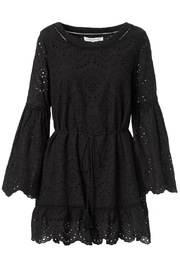Cupcakes and Cashmere Ruben Flutter Dress - Back cropped