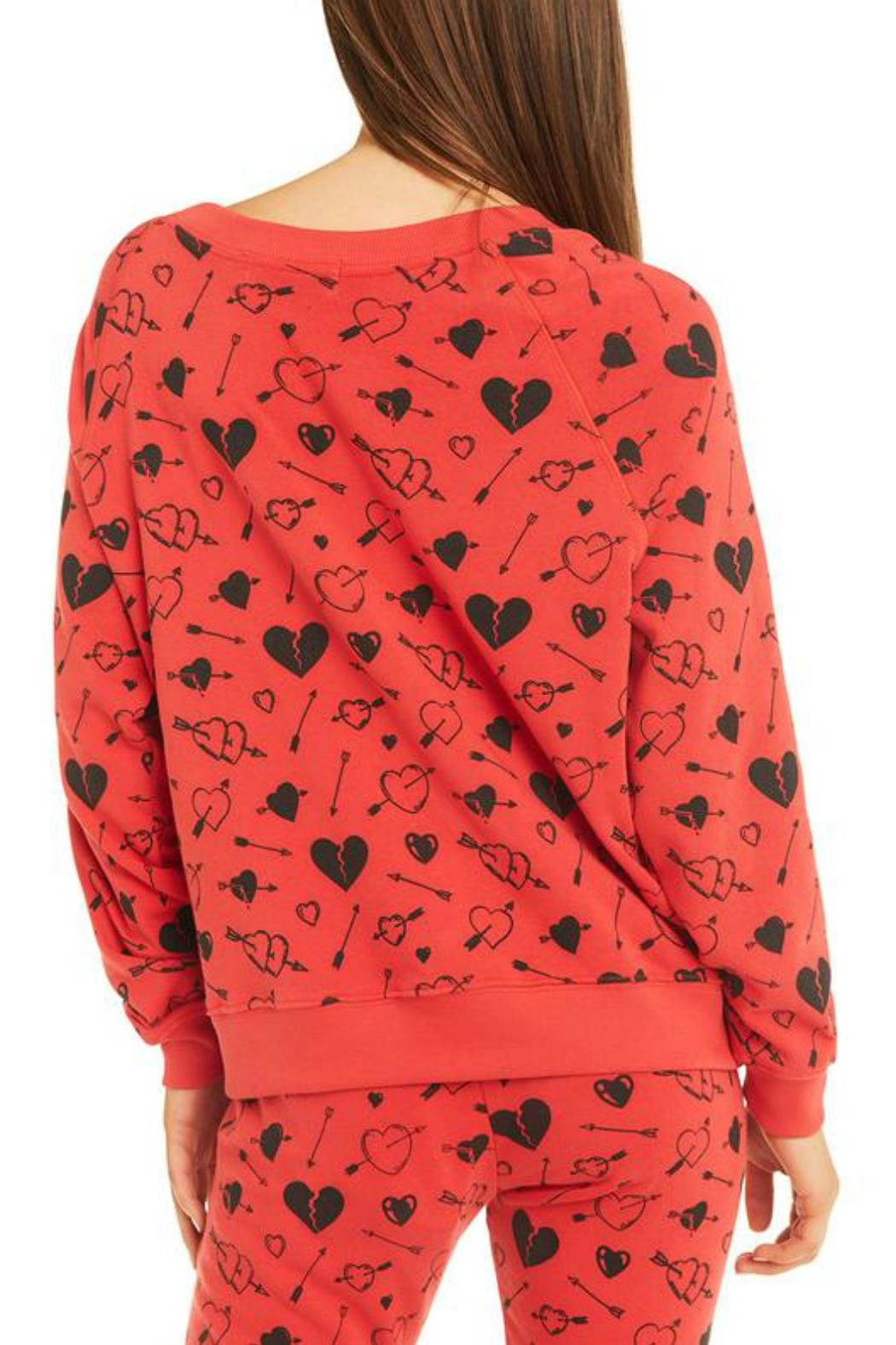 Wildfox Cupid Strikes Sweatershirt - Side Cropped Image