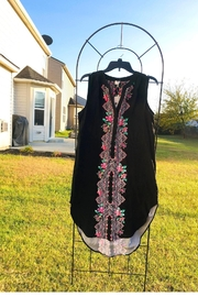 Cupio Floral Black Dress - Front cropped