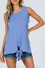 CY Fashion Cupro Sleeveless Top - Front cropped