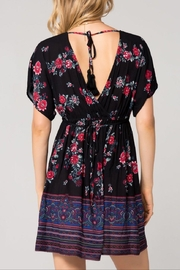 Band Of Gypsies Curacao Floral Dress - Side cropped