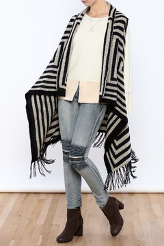 Shoptiques Product: Long Fringed Vest