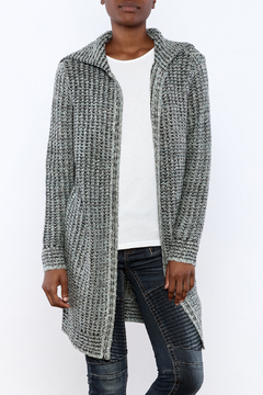 Shoptiques Product: Smoke Long Open Cardigan