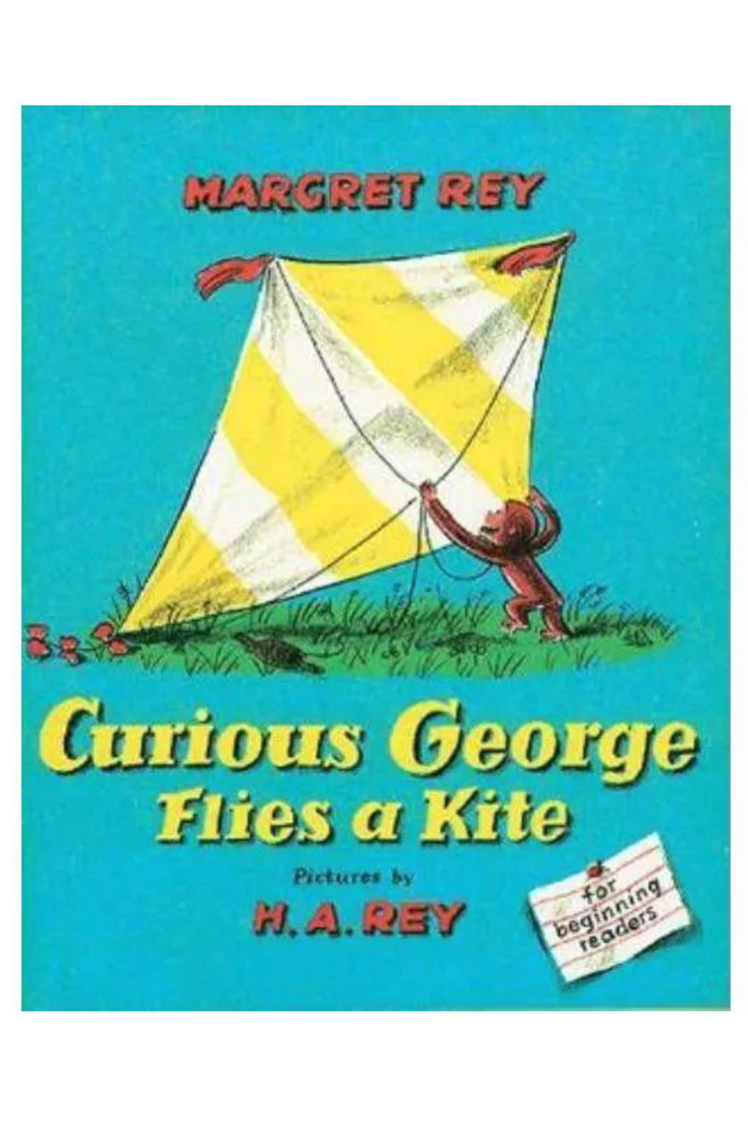 Houghton Mifflin Harcourt  Curious George Flies A Kite - Front Cropped Image