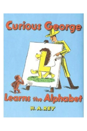 Houghton Mifflin Harcourt  Curious George Learns The Alphabet - Front cropped