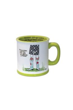 Curly Girl Designs Big Girl Boots Mug - Alternate List Image