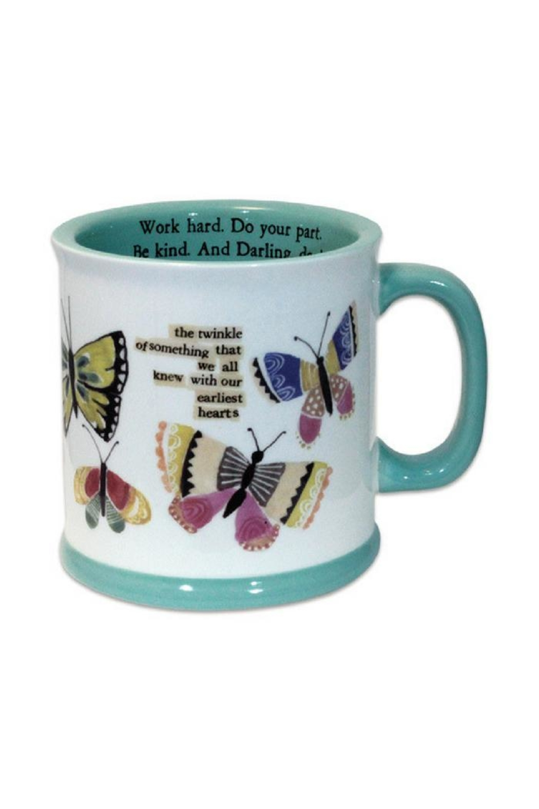 Curly Girl Designs Butterfly Mug - Main Image