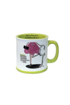 Curly Girl Designs Live Imperfectly Mug - Alternate List Image