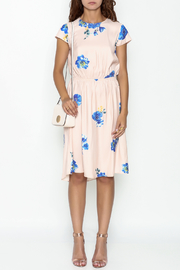 Current Air Blue Blush Florals - Front full body